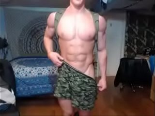 muscle military guy