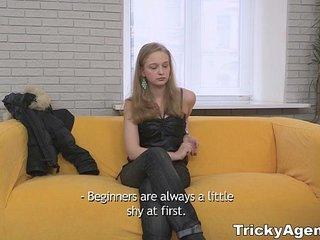 Tricky Agent - Inga Zolva first porn casting movie teen-porn