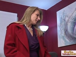 Cougar makes a old guy forget about his ex girlfriend