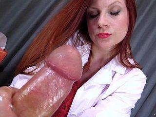 Doctor's Viagra Boner Cure: FULL VIDEO HJ by Lady Fyre femdom