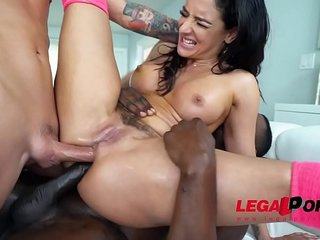 MUST SEE - Sheena Ryder takes on her 1st DAP EVER!!!